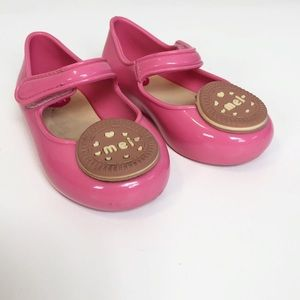 Grendene Pink Mel Cookie Jelly Shoes size 5
